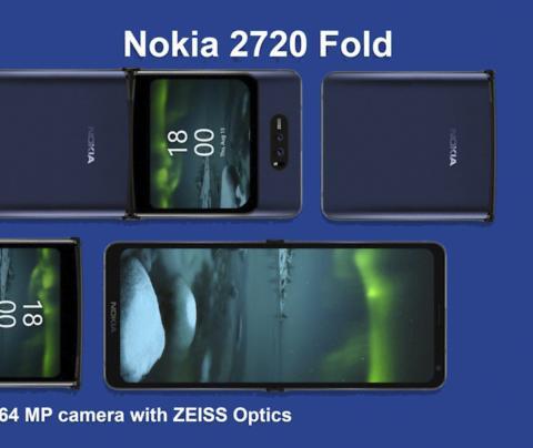 Nokia móvil plegable