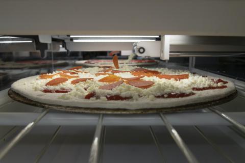 Picnic, el robot pizzero