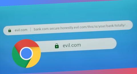 Propuesta para solucionar el phishing mediante URLs de Chrome