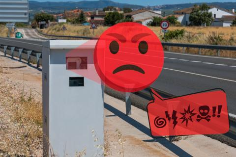 Radar con emoticono