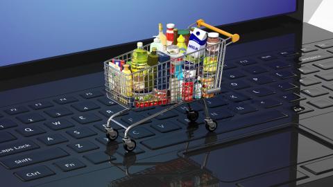 Supermercado compra online