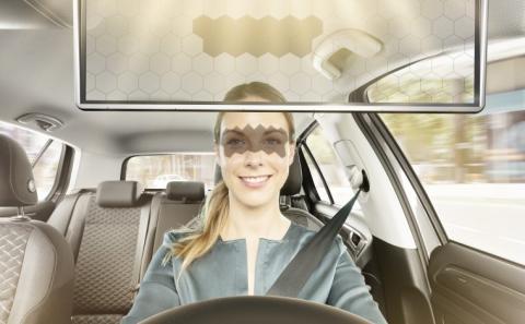 Virtual Visor de Bosch, parasol con inteligencia artificial