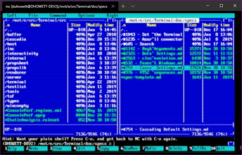 Windows Terminal modo Retro