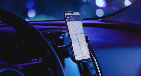 Cargador inalámbrico para el coche de Xiaomi