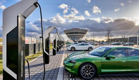 Cargadores Porsche