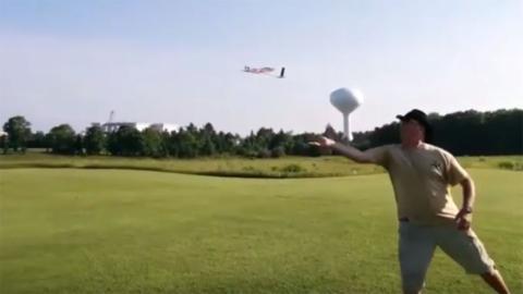 Dron con alas