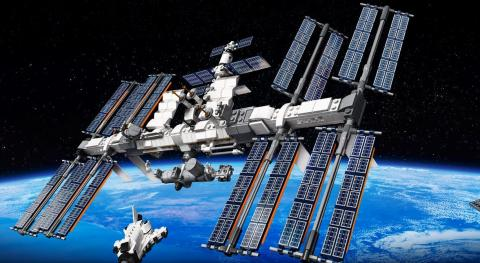 Estación Espacial Internacional LEGO