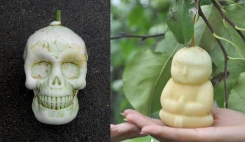Vegetales con formas humanas
