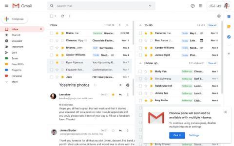 Gmail multiples bandejas