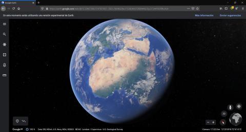 Google Earth en Firefox