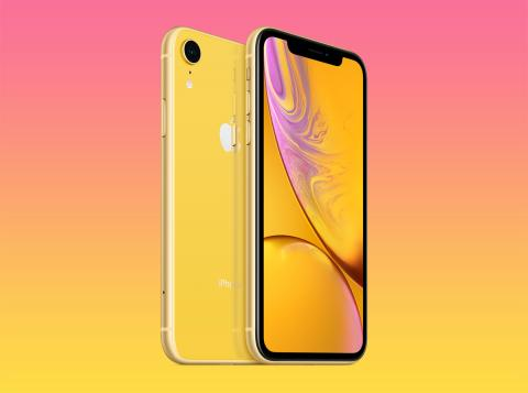 iPhone XR amarillo