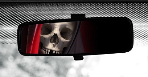 la muerte en un coche