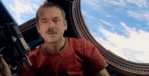 One Strange Rock astronauta Chris Hadfield