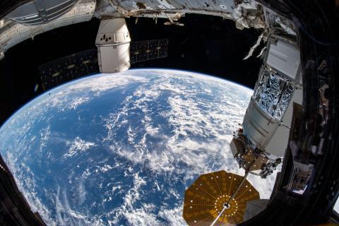 Planeta Tierra desde la Estación Espacial Internacional