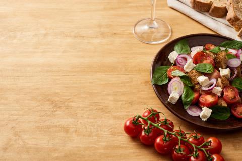 Plato verdura