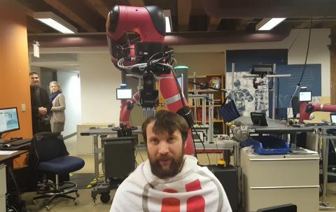 Robot peluquero