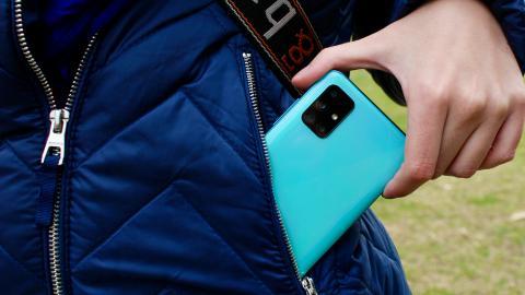 Samsung Galaxy A51 - diseño