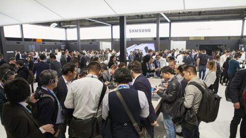 Samsung en el MWC