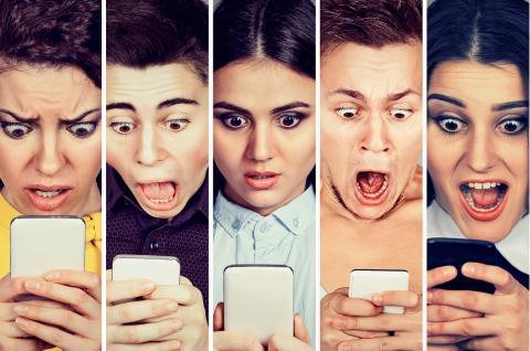 Multas por usar el móvil