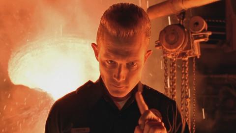 T 1000 Terminator 2