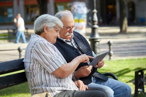 Tablet abuelos