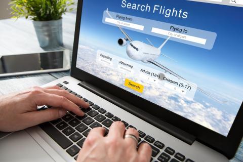 Web para buscar vuelos