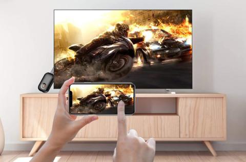 Adaptador Miracast a televisor Yehua Mirascreen 4K