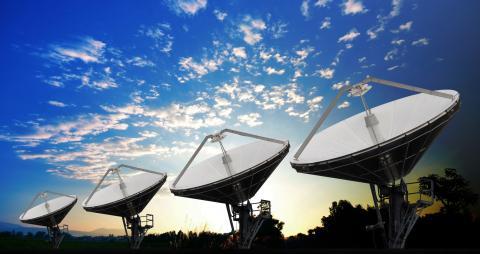 Antenas espacio