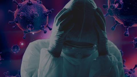 Científico virus pánico