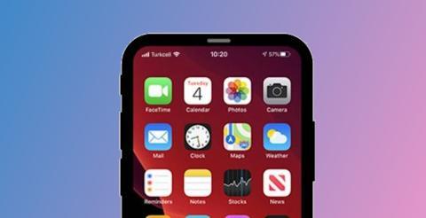 iPhone 12 sin notch, imagen render
