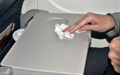 Limpiar avión