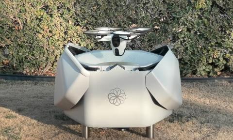 Dron de seguridad autónomo