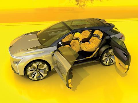 Renault Morphoz secretos