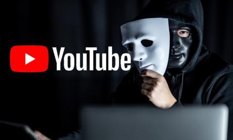 Robo de canales de YouTube
