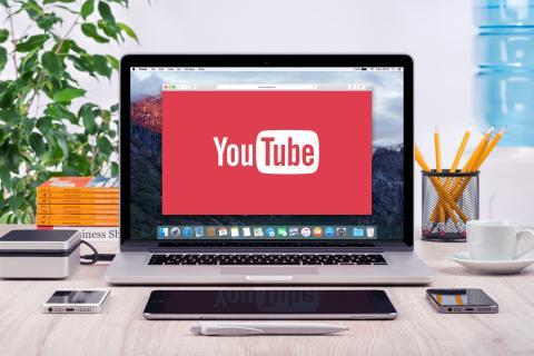 YouTube en un ordenador