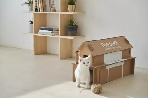 Casa para gatos Samsung