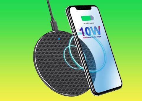 Cargador inalámbrico para móviles a 10W