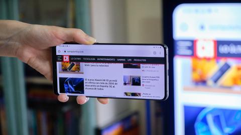 Enviar página web a Chromecast