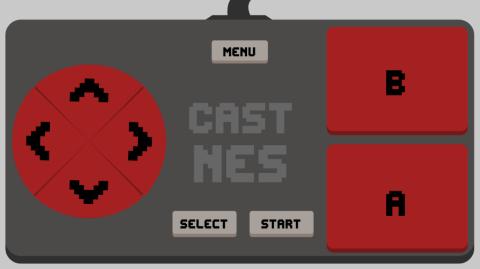 Chromecast CastNES games