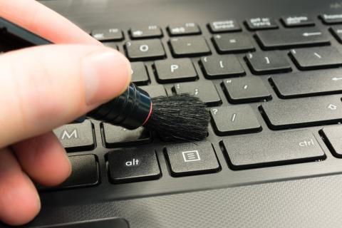 limpiar teclado