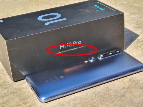 Nueva caja móviles Xiaomi