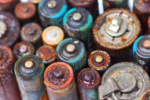 pilas oxidadas