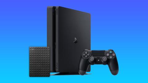 PS4 con disco duro externo