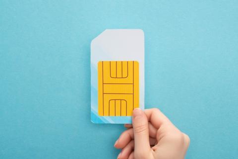 Tarjeta SIM datos
