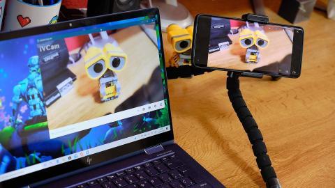 Usar móvil como webcam