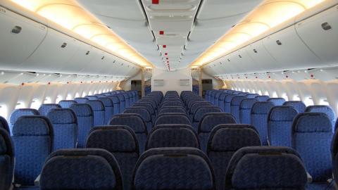 Asientos de un avión