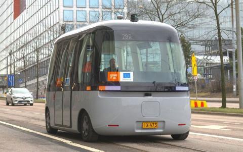 Autobús autónomo FABULOS