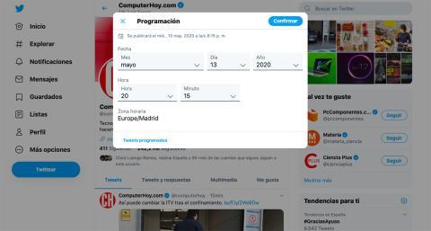 Cómo programar tweets de manera nativa