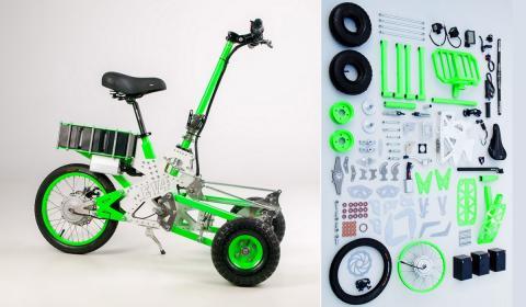 Scooter eléctrico DIY