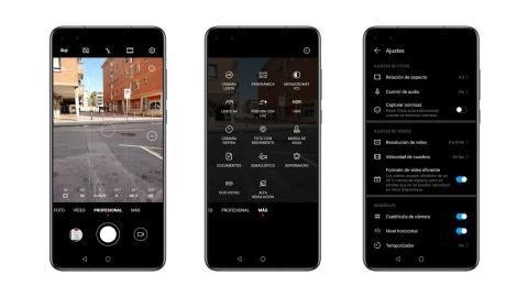 Huawei P40 interface
